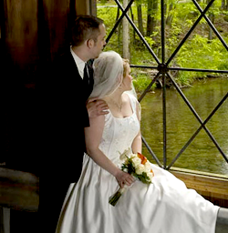 Wedding Photo By Window